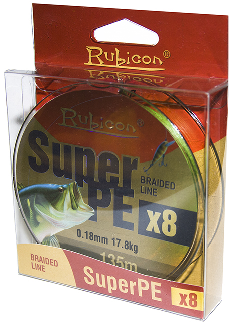 Плетеная леска RUBICON SUPER PE 8X